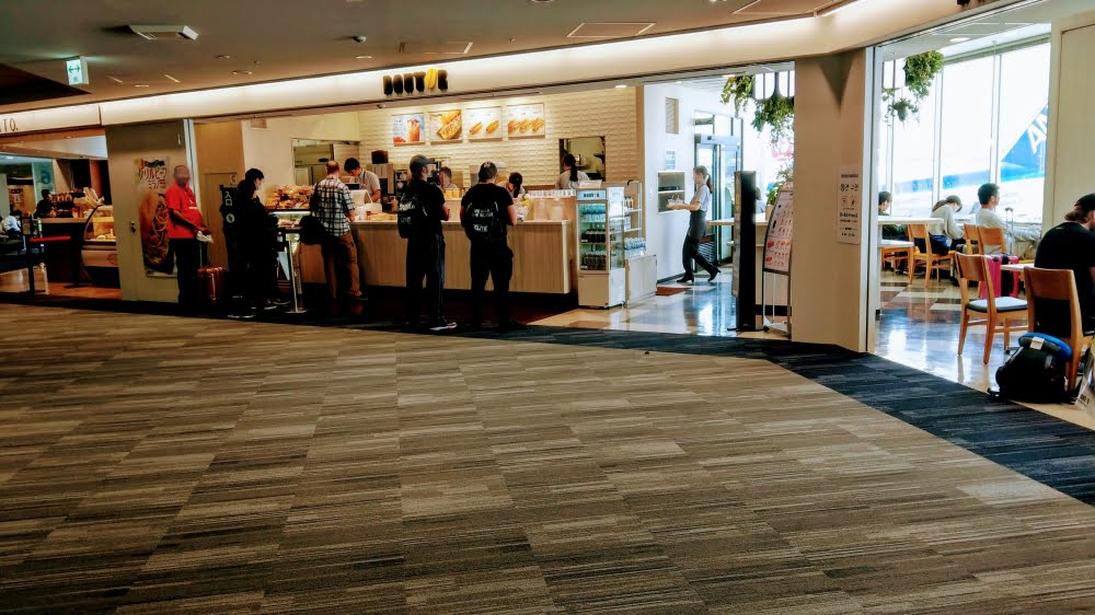 福岡空港のドトール