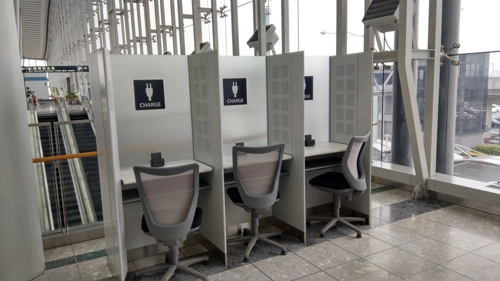 仙台空港の充電スポット