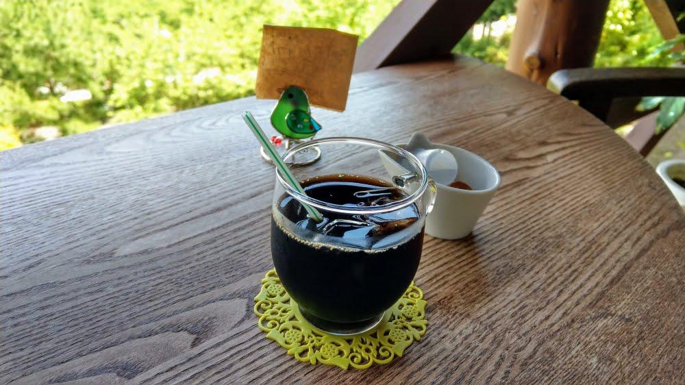 あいはなカフェの食後のコーヒー