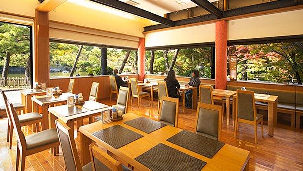 石橋文化センターのカフェ