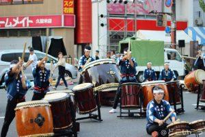 水の祭典 太鼓の演舞
