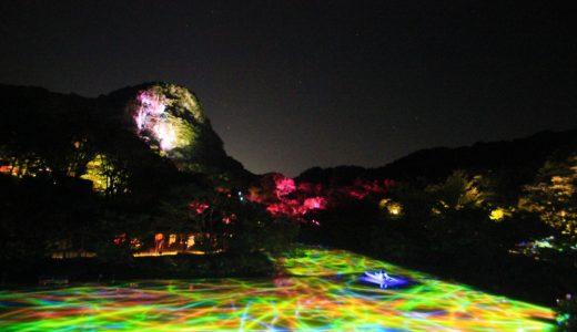 【チームラボ】7月12日から御船山楽園で「かみさまがすまう森」が開催!!