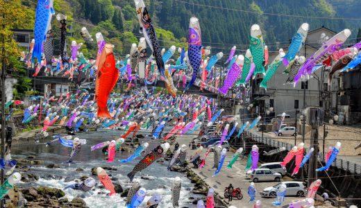 GWは杖立温泉鯉のぼり祭りへ行こう!見どころや混雑状況を聞いてきた!