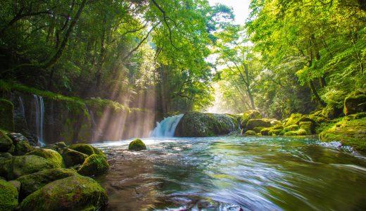 【大自然】菊池渓谷で素晴らしい光芒を見てきた!