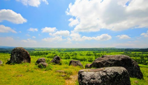 【絶景】押戸石の丘でパノラマの絶景を見に行こう!